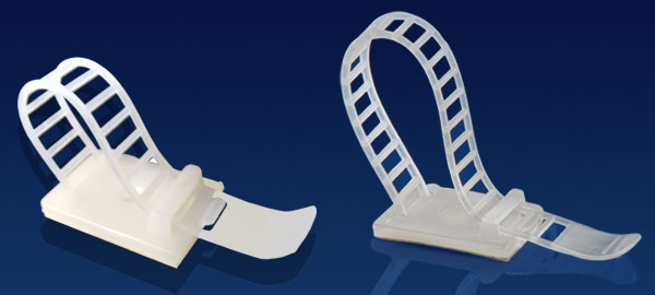 Novoflex: Adhesive Backed Clamps and Clips