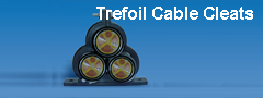 Trefoil Cable cleats