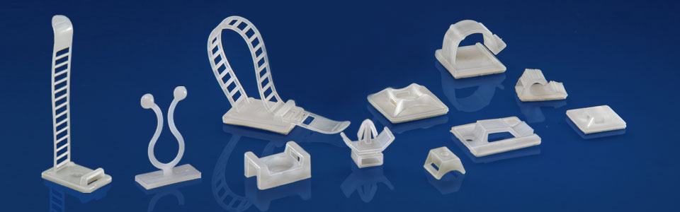 Adhesive Backed Clamps Clips